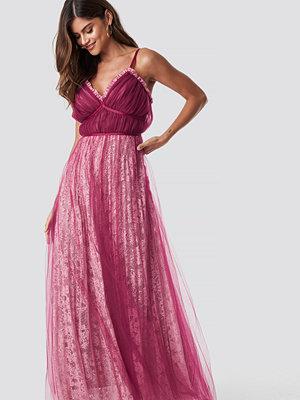True Decadence Pleated Maxi Dress - Maxiklänningar