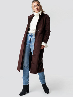 Rut & Circle Gella long coat brun