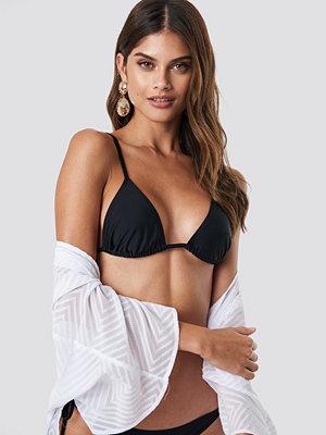 NA-KD Swimwear Tied Back Triangle Top - Bikini