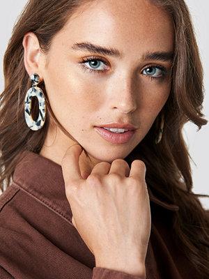 NA-KD Accessories Oval Resin Look Earrings - Smycken