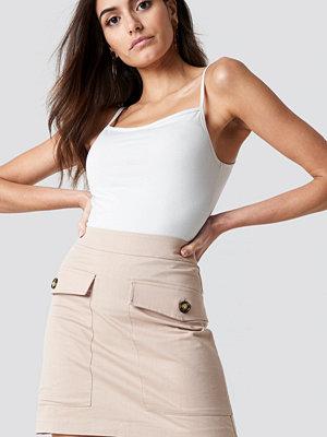 NA-KD Trend Cotton Blend Mini Skirt - Minikjolar