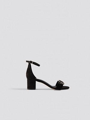 Trendyol Eyelet Detailed Heels svart