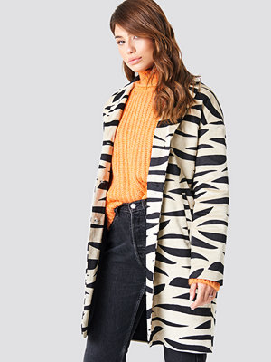 NA-KD Trend Printed Zebra Jacket multicolor