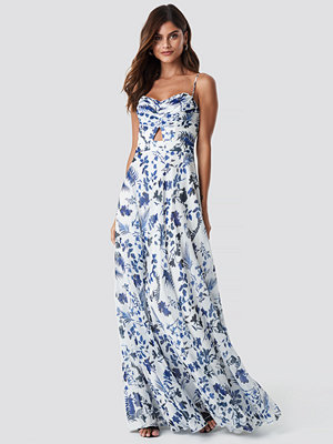 Trendyol Flower Pattern Maxi Dress - Långklänningar