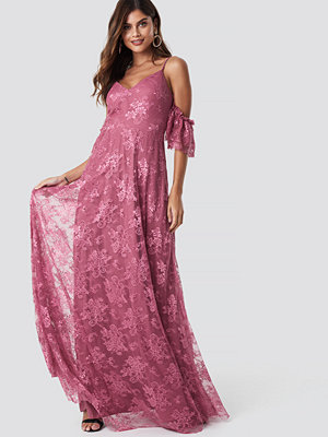 Trendyol Rose Dry Maxi Dress - Festklänningar
