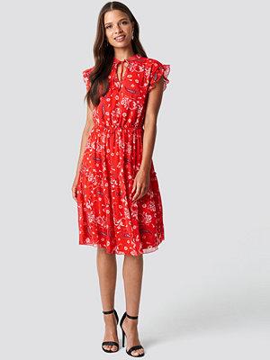 Trendyol Pattern Detail Midi Dress - Midiklänningar