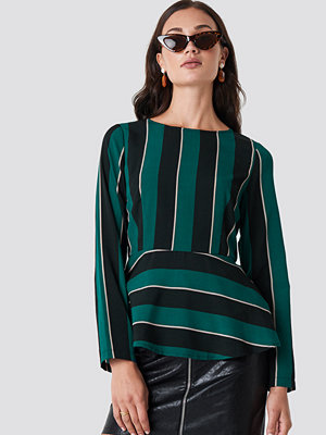 Rut & Circle Striped Blouse - Blusar