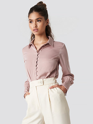NA-KD Trend Button Detailed Blouse