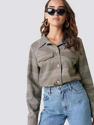 NA-KD Trend Plaid Short Jacket - Jackor