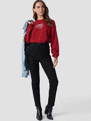 Cheap Monday Donna Deep Black Jeans svart