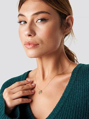 Linn Ahlborg x NA-KD Little Round Pendant Necklace - Smycken