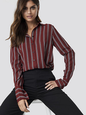 NA-KD Trend Mixed Stripes Shirt