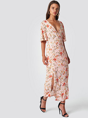 Trendyol Flower Patterned Cruise Dress - Långklänningar