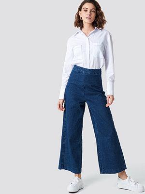 NA-KD Classy Culotte Denim Pants