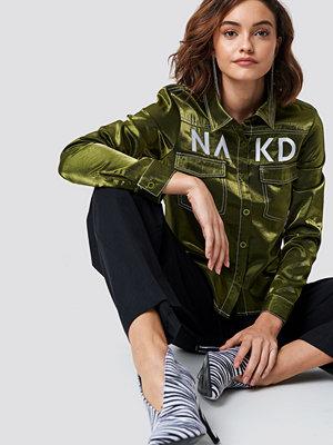NA-KD Trend NA-KD Contrast Shirt