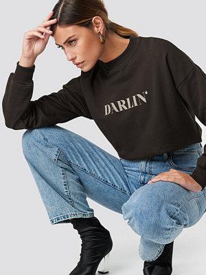NA-KD Darlin' Sweatshirt brun