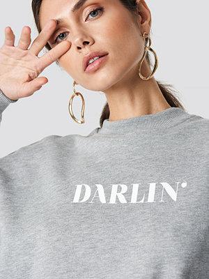 NA-KD Darlin' Sweatshirt grå