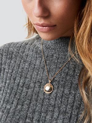 NA-KD Accessories Vintage Look Plate Necklace - Smycken