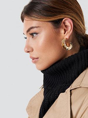 NA-KD Accessories Buckled Hoop Earrings - Smycken