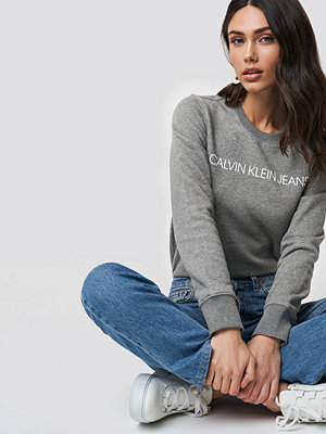 Calvin Klein Institutional Regular Crew Neck grå