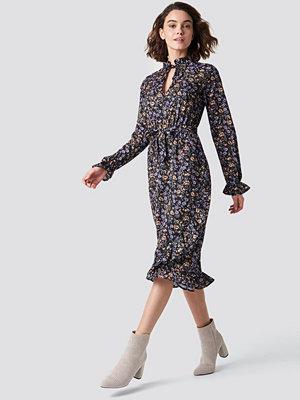 Rut & Circle Maxi Flower Dress - Maxiklänningar