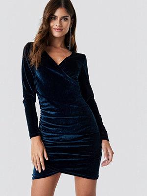 Rut & Circle Wrinkle Velvet Dress - Miniklänningar