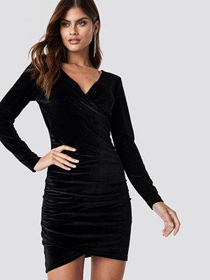 Rut & Circle Wrinkle Velvet Dress - Korta klänningar