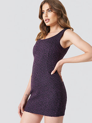 Galore x NA-KD Boucle Short Dress - Miniklänningar