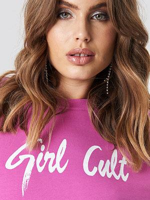 Galore x NA-KD Oversized Girl Cult Sweatshirt rosa