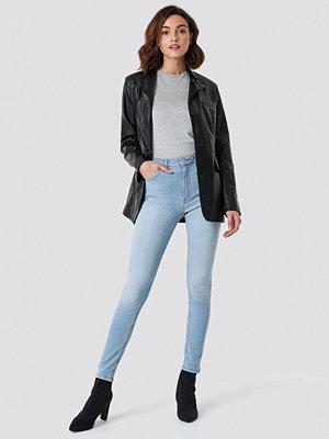 NA-KD Skinny Mid Waist Jeans