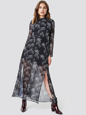 Trendyol Patterned Long Dress - Långklänningar