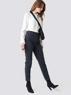 Trendyol High Mom Jeans svart