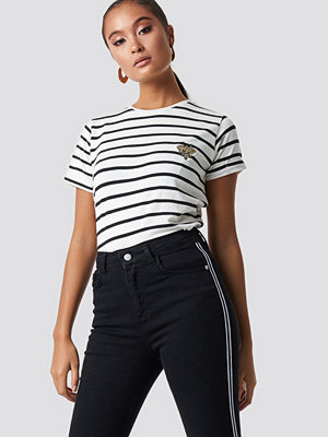Sisters Point Herm Stripe Tee vit