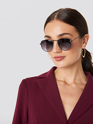NA-KD Accessories Rounded Square Sunglasses - Solglasögon