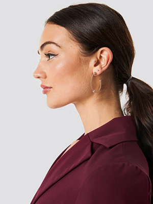 NA-KD Accessories Knot Detail Hoops - Smycken
