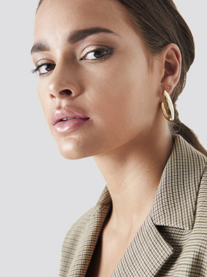 NA-KD Accessories Structured V Earrings - Smycken