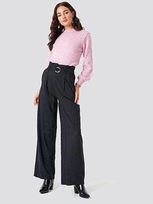 Trendyol Binding Detail Trousers - Utsvängda byxor