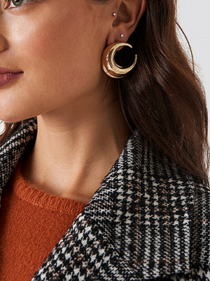 NA-KD Accessories Chunky Crescent Earrings - Smycken