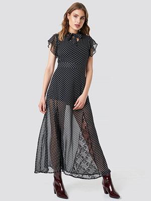 Trendyol Flounce Sleeve Maxi Dress - Maxiklänningar