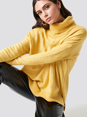 Trendyol Turtle Neck Basic Sweater gul