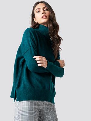Trendyol Turtle Neck Basic Sweater blå