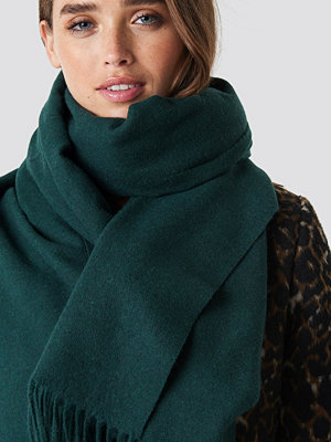 NA-KD Accessories Wool Blend Scarf - Sjalar