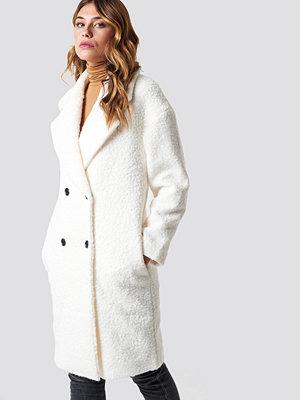 Glamorous Teddy Fur Coat vit