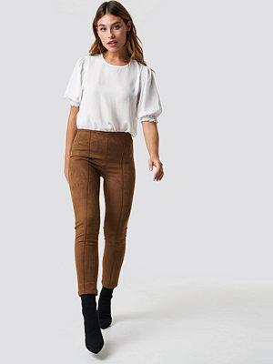 Leggings & tights - Trendyol Yeni Pants brun