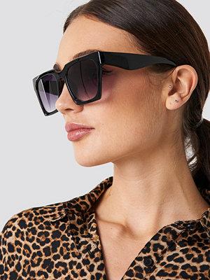 Solglasögon - NA-KD Accessories Oversize Squared Sunglasses - Solglasögon