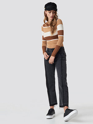 Mango Straight Cropped Jeans