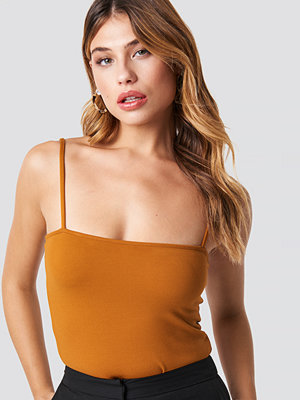 NA-KD Bandeau Strap Singlet orange