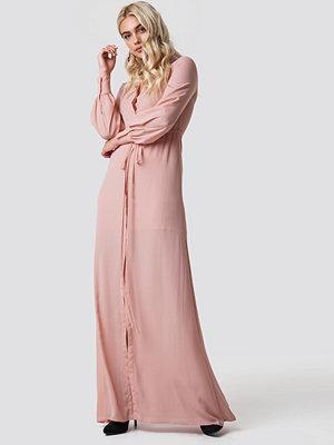 Mango Mia-a Maxi Dress rosa