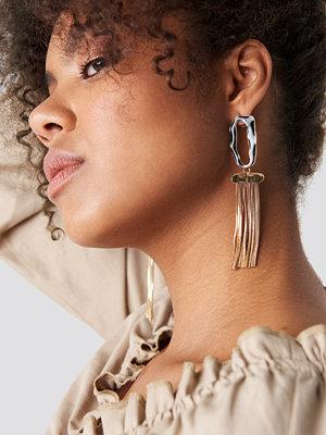 Mango smycke Glasgow Earrings svart guld