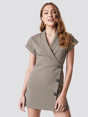 Mango Cuadro Dress - Korta klänningar
